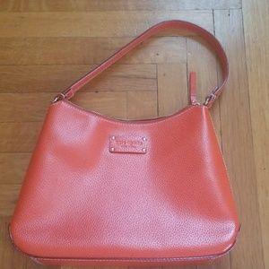 Kate spade dark orange purse